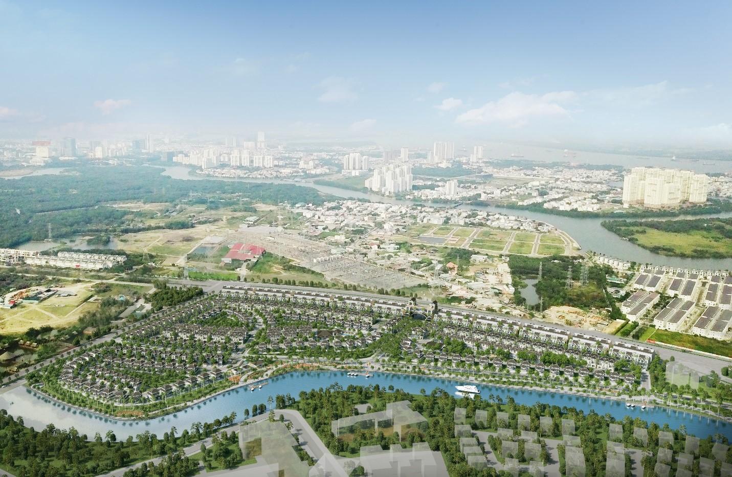 Nhờ quy hoạch tốt, cư dân zeit RIVER COUNTY 1 sẽ được hưởng nhiều ưu thế về giao thông