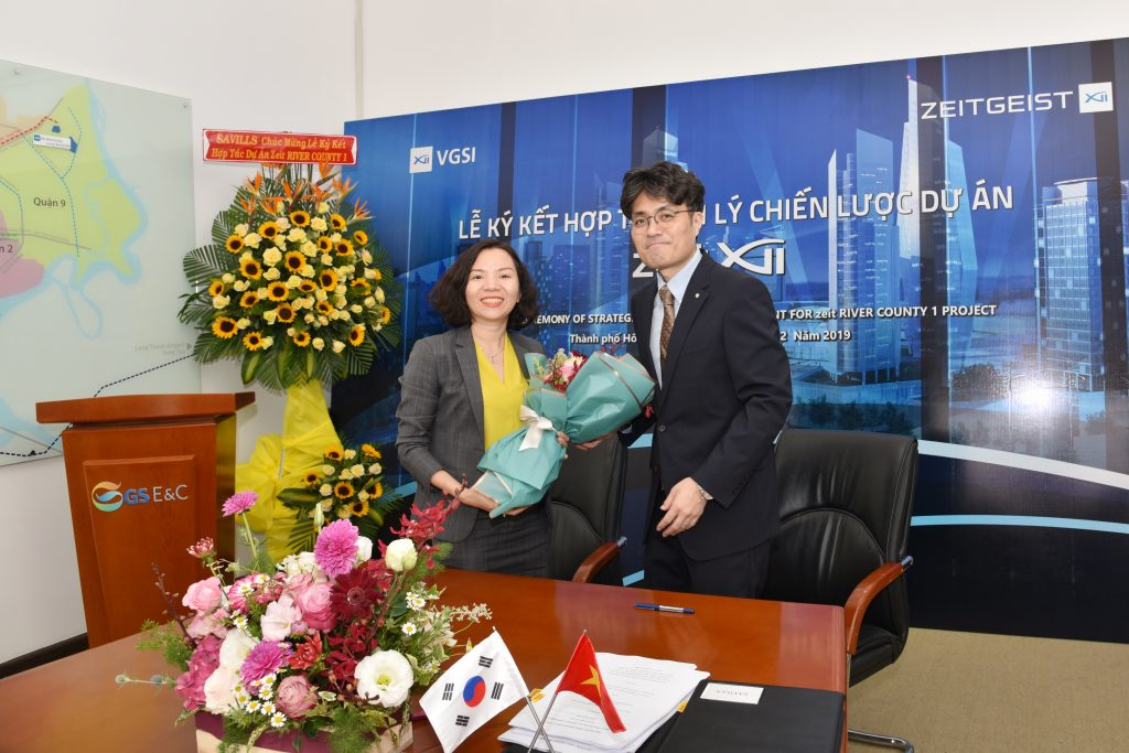Đại diện Khải Hoàn Land - Bà Đinh Thị Nhật Hạnh