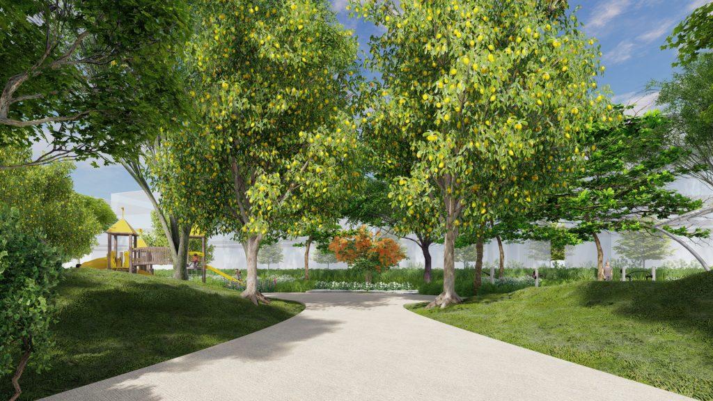 Các khu công viên chủ đề luôn hướng tới một lối sống xanh thuần khiết
