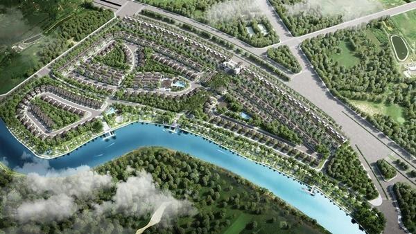 Chủ đầu tư ưu tiên mảng xanh nên khu đô thị có không gian thoáng đãng đúng nghĩa