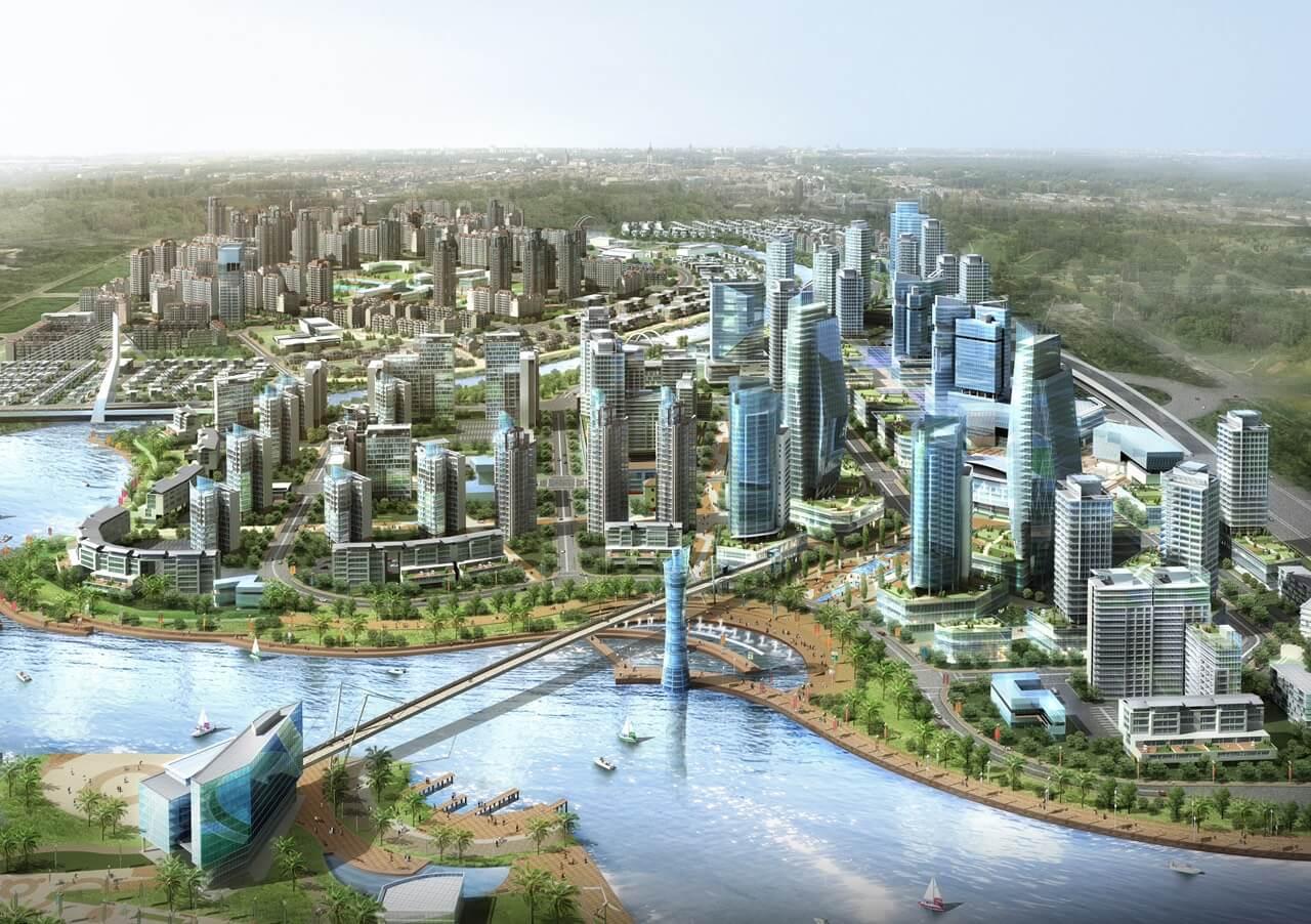 Toàn cảnh dự án khu đô thị ZEITGEIST