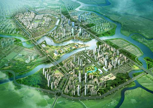 Toàn cảnh khu đô thị ZEITGEIST
