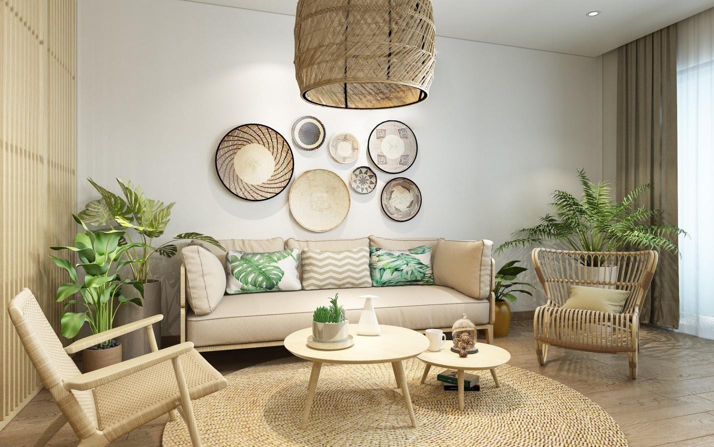 Phong cách thiết kế nội thất miền nhiệt đới tại dự án zeit RIVER COUNTY 1